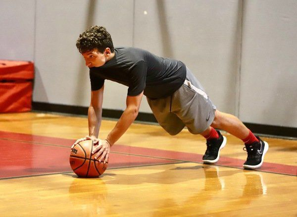BACK TO WORK: <span>C3 Hoops is back training boys and girls basketball players throughout the state</span>