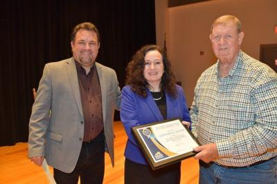 83-year-old student receives academic team award