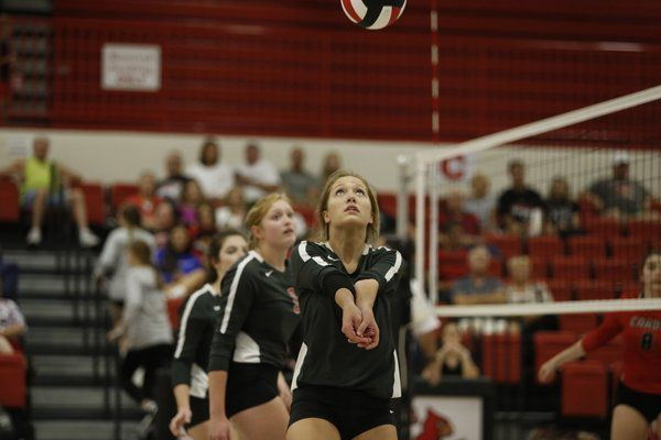 Lady Redhounds win district matchup against South Laurel, 3-1