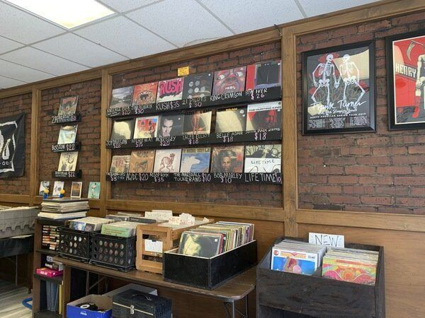 New record shop set to open Sept. 1 in downtown