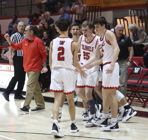 Colonels open season with double overtime victory