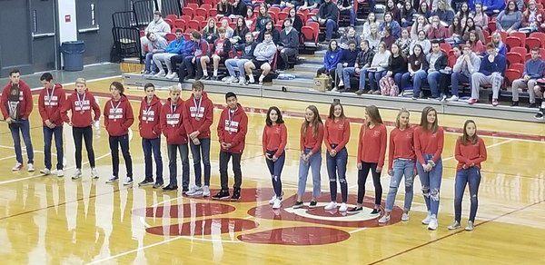School celebrates accomplishments of Corbin's cross country team