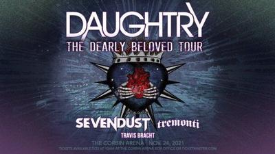 Daughtry to perform at Corbin Arena in November