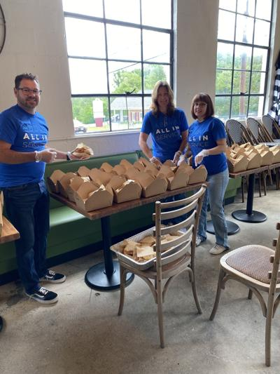 Old Dominion Insurance donates meals to healthcare workers