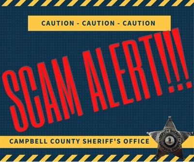 CCSO scam alert