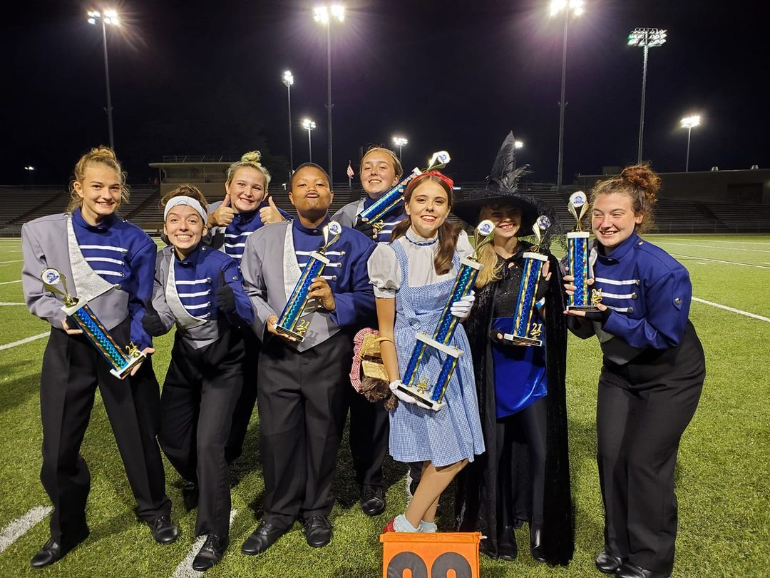 Campbell County schools compete in Lynchburg Classic Marching Band Competition