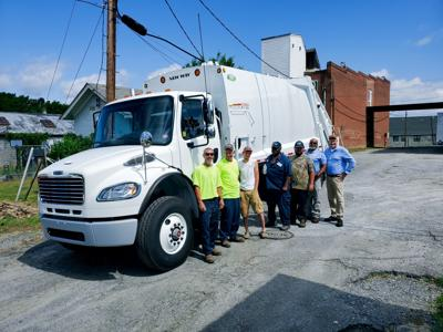 Town of Brookneal buys new sanitation vehicle