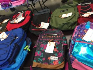 Backpacks galore thanks to DSS