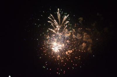 South Boston Speedway Fireworks