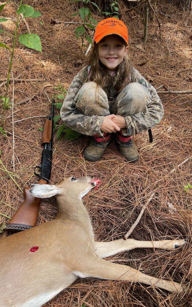 King siblings harvest first deer, buck on Youth Hunting Day