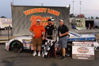 PULLIAM SWEEPS DAVENPORT ENERGY NASCAR LATE MODEL TWIN 75S AT SBS