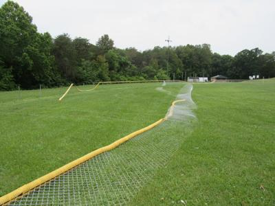 Brookneal Ball Park vandalized
