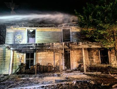 Red House Road fire