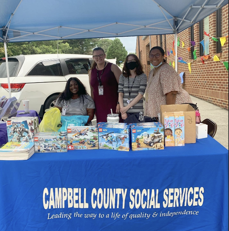 Block party, back to school event hosted at Staunton River Memorial Library