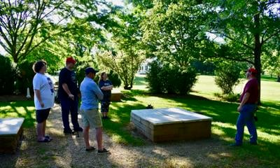 Friends of Liberty support Patrick Henry's Red Hill