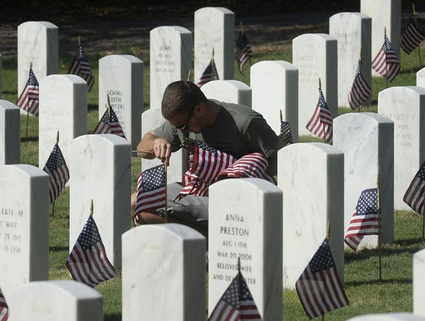 Flags for fallen vets prepares for Memorial Day