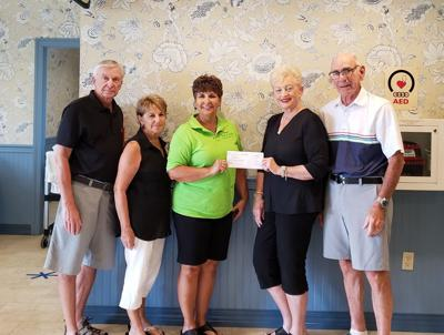 The Greater Hartford Connecticut Club donates to SoZo Kids