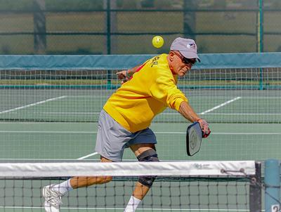 Resident hosts 80-and-up pickleball tournament