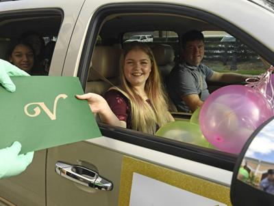 VCS campus parade honors outgoing middle school students