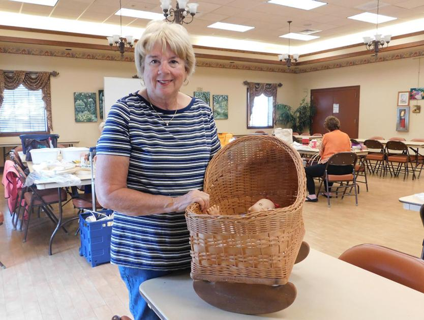 Basket Weavers group to show off its creations