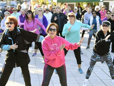 Zumba well-received despite cold temps