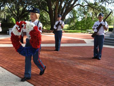 Memorial Park Honor Guard remembers fallen vets