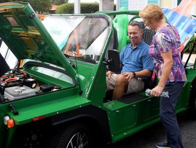 Villagers browse newest models at Lake Sumter Landing car show