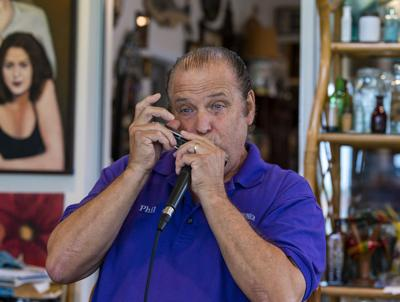 Harmonica player finds success in quartet