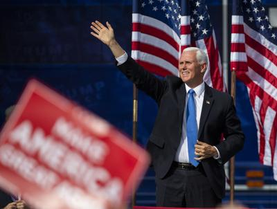 Pence campaigns here in election's final days