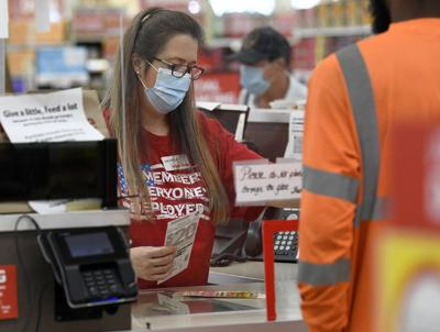 RED shirt drive gets boost from grocer