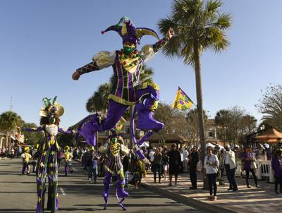 Residents revel in Fat Tuesday festivities