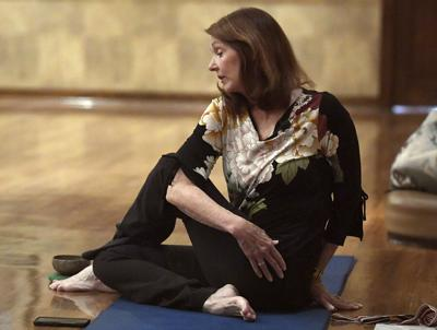 Yoga helps practitioners let go of everyday stress