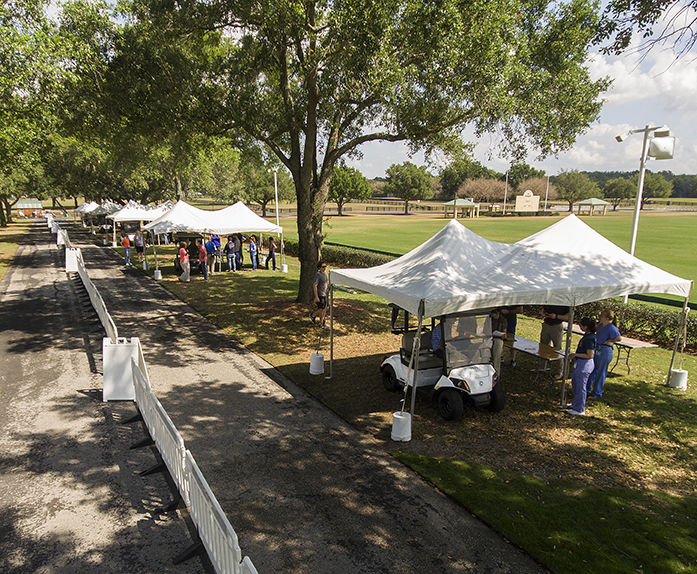 UF Health Bring Testing to The Villages