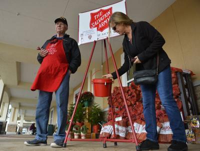 Red kettle campaign makes a joyful noise