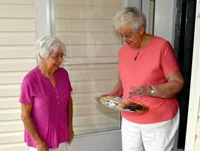 Resident bakes cookies as strategy for self-care