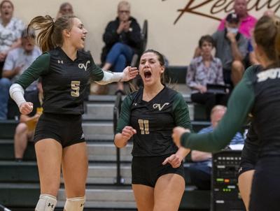 Wright helps keep VHS volleyball unbeaten