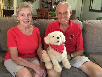 Villager uses toy dog after loss of his therapy dog