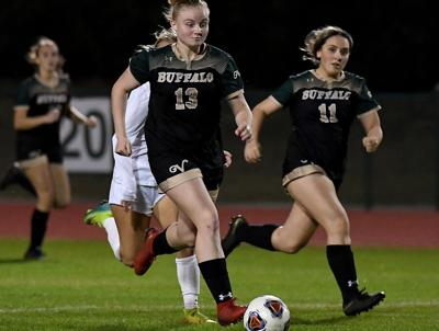Buffalo girls soccer falls to Knights in home finale