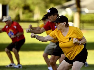 Dragon boat teams begin socially distanced workouts off the water