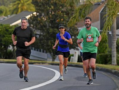 Runners moving toward normality