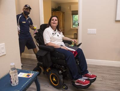 Veteran welcomed to new Villages home