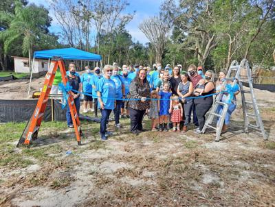 Club builds its First Home for a local Family in Need