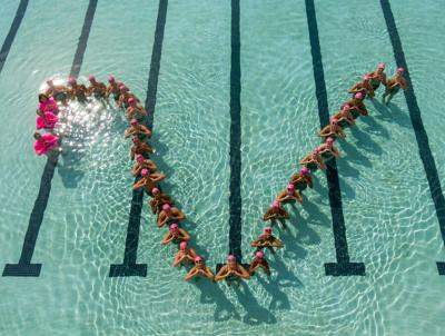 Only in The Villages: VHS swim team supports mom's breast cancer battle