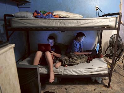 Into Poverty's Grip