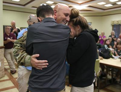 VHS helps airman with Joyful Reunion