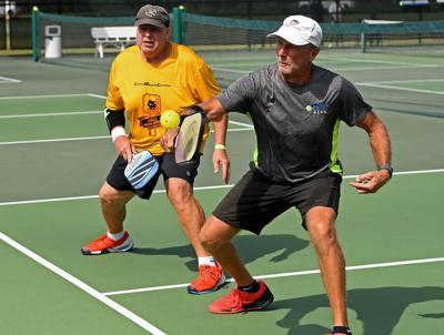 Potter, Wesselman take Pickleball tourney title