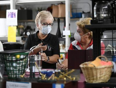 Charity thrift stores reopen to fill needs