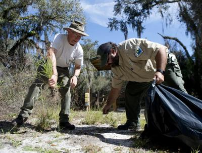 Volunteers support recreation activities at Florida state parks