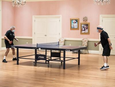 Table tennis enthusiasts compete around The Villages