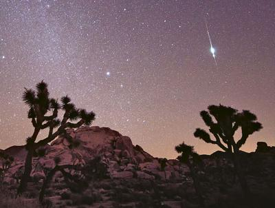 Meteors to brighten October's night skies